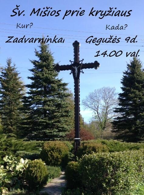Zadvarninkų  kryžius 1